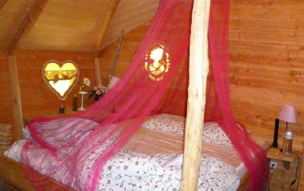 Cabane dans les arbres-chambre - Baie de Somme