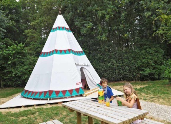 Hébergement Tipi Home Camping