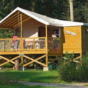 Hébergement camping ecolodge - Baie de Somme