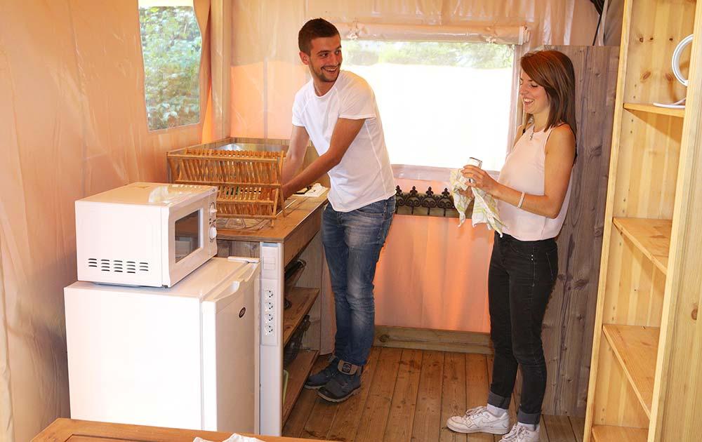 Hébergement cuisine équipée-ecolodge-Baie-de-Somme