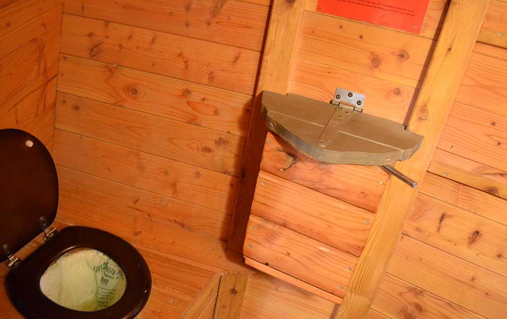 Hébergement insolite La Licorne wc Baie de Somme