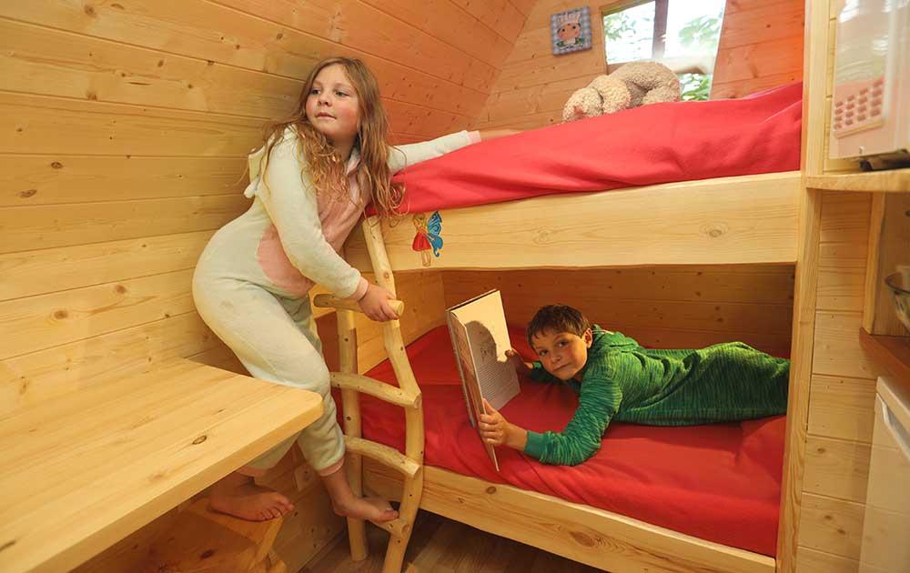Hébergement maison des fée chambre enfant - Baie de Somme