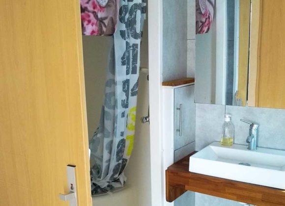 Achat mobil home salee de bain Willerbeg Baie de Somme
