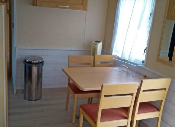 Achat mobil home table Willerbeg Baie de Somme