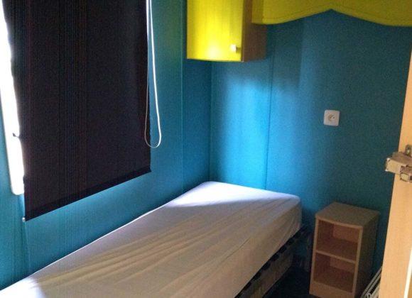 Achat mobil home chambre enfant Willerbeg Baie de Somme