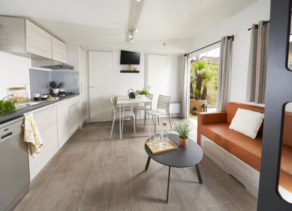 residences trigano mobil-home 3chambres